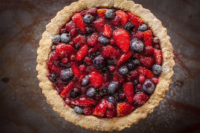 Crostata ai Frutti Rossi - Gluten-free